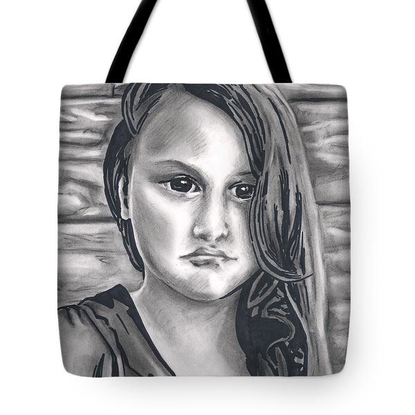 Young Girl- Shan Peck Contest Tote Bag