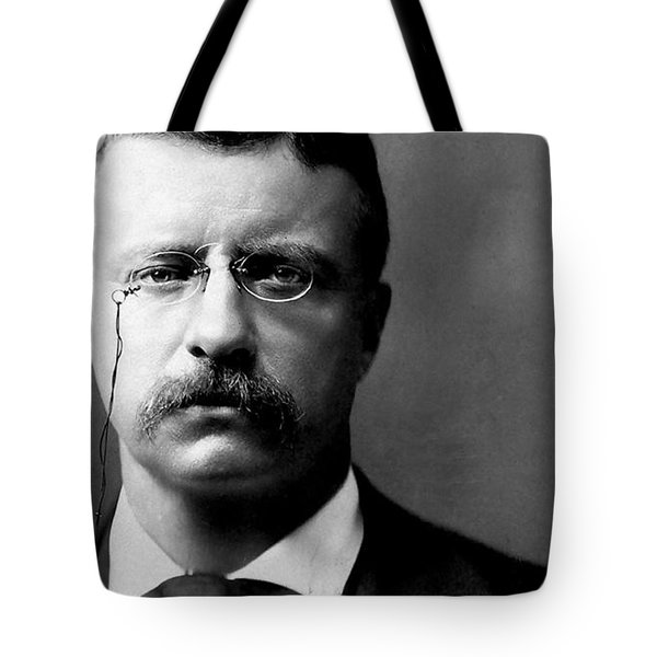 Young Theodore Roosevelt Tote Bag by Bill Cannon