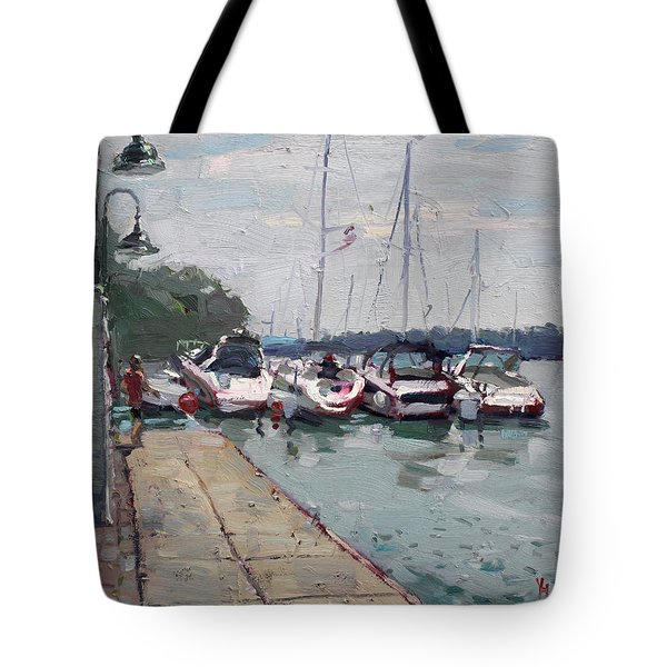 Youngstown Yachts Tote Bag