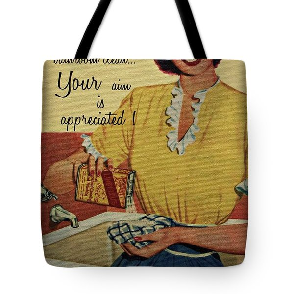 Your Aim Is Appreciated Tote Bag by Movie Poster Prints