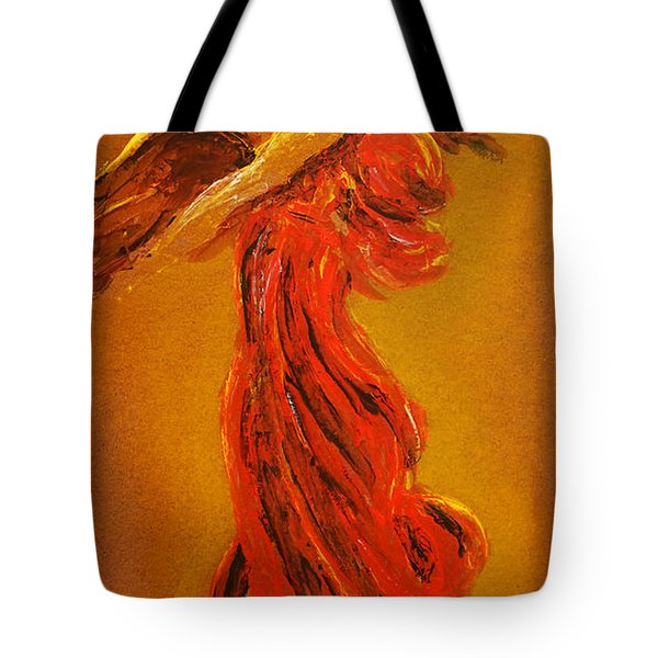 Your Angel Is Waiting Tote Bag