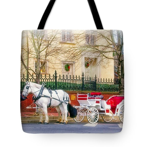 Your Carriage Awaits Tote Bag