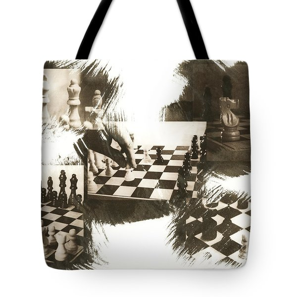 Your Move Tote Bag by Caitlyn  Grasso