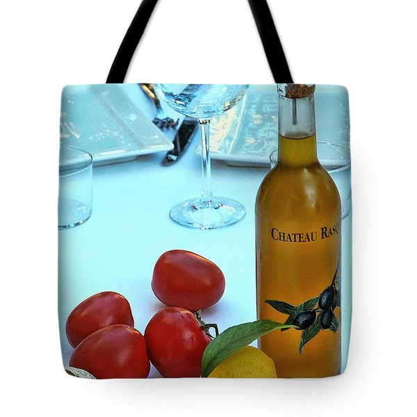 Tote Bag featuring the photograph Your Table Is Ready by Allen Beatty