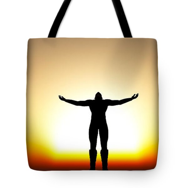 Your Will Be Done... Tote Bag by Tim Fillingim