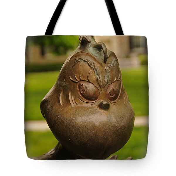 You're A Mean One... Tote Bag by Mike Martin