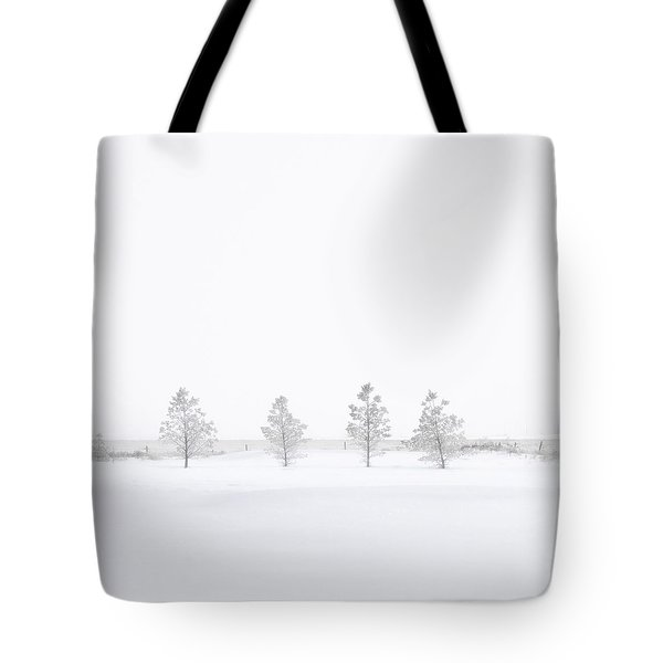 You're Hardly There Tote Bag