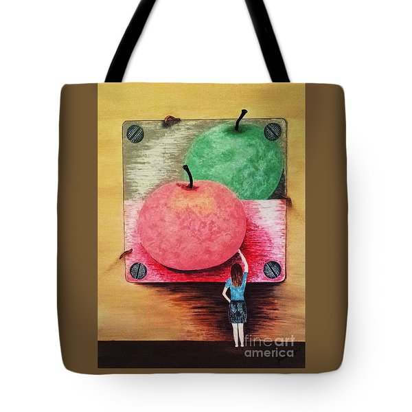 Youth And Maturity Tote Bag by Jasna Gopic