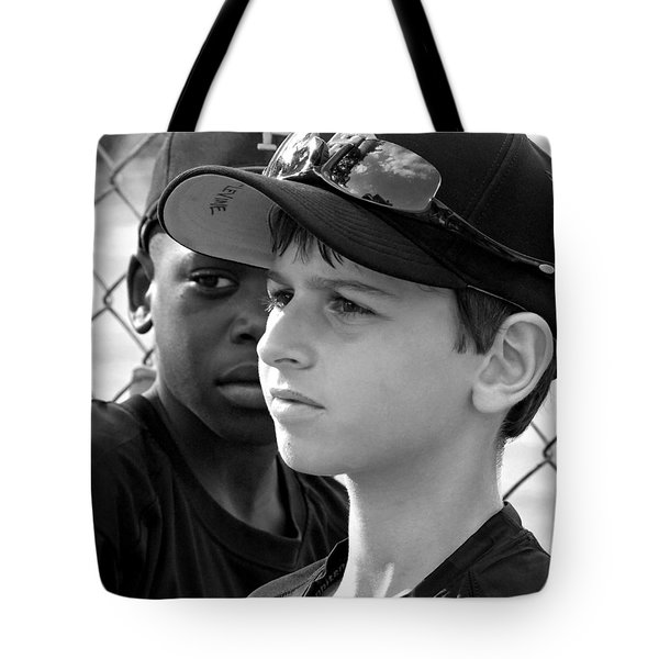 Youth Baseball 3 Tote Bag