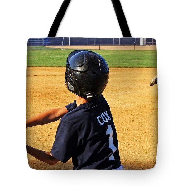 Youth Baseball Tote Bag