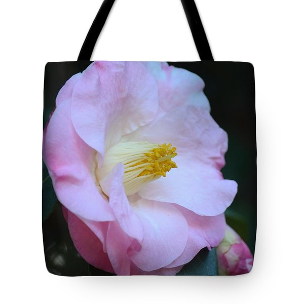 Youthful Camelia Tote Bag by Maria Urso