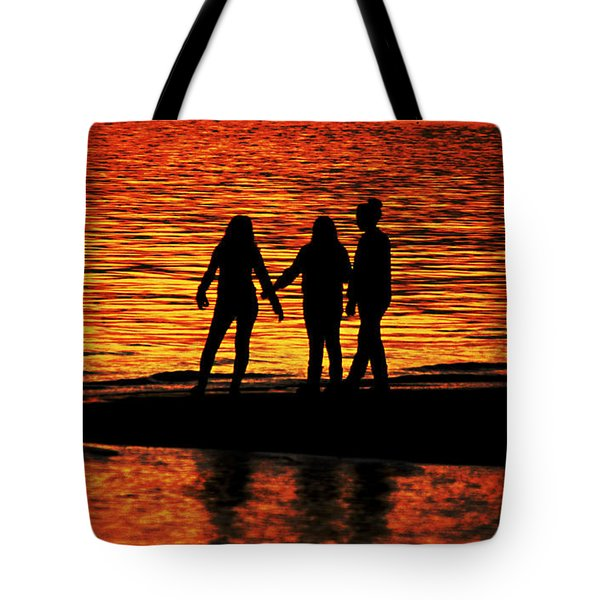 Youthful Friendships Tote Bag