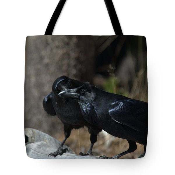 You've Got Something On Your Beak Tote Bag