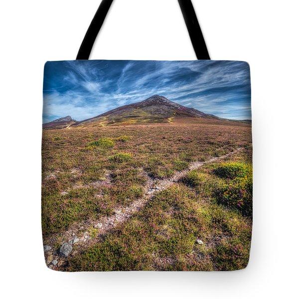 Yr Eifl Trail Tote Bag by Adrian Evans