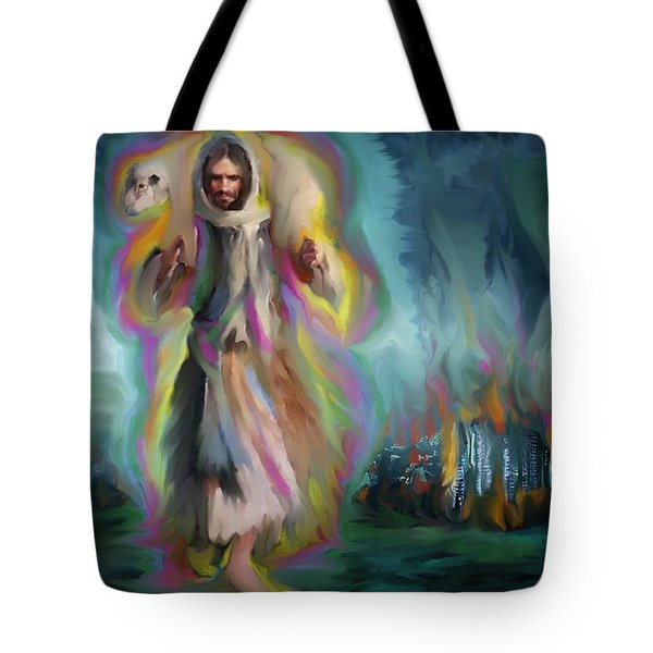 Yshuwh Yhwh Saves Tote Bag