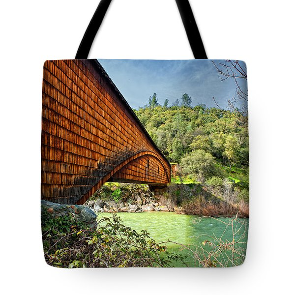 Tote Bag featuring the photograph Yuba State Park by Jim Thompson