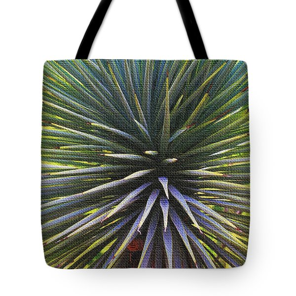 Tote Bag featuring the photograph Yucca At The Arboretum by Tom Janca