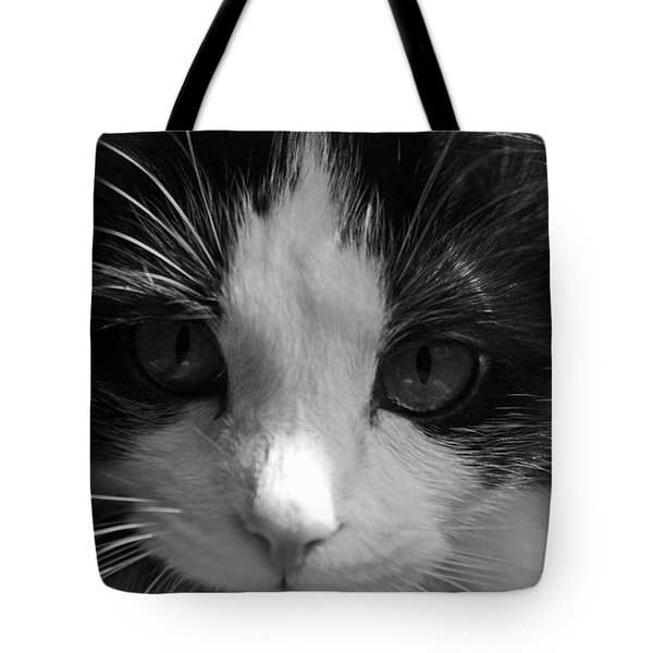 Yue Up Close Tote Bag by Andy Lawless