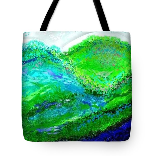 Van Gogh Sunrise Tote Bag