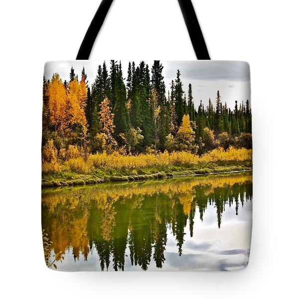 Yukon Autumn Tote Bag
