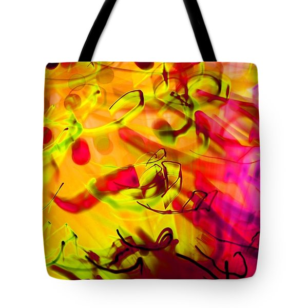YYZ Tote Bag by Dazzle Zazz