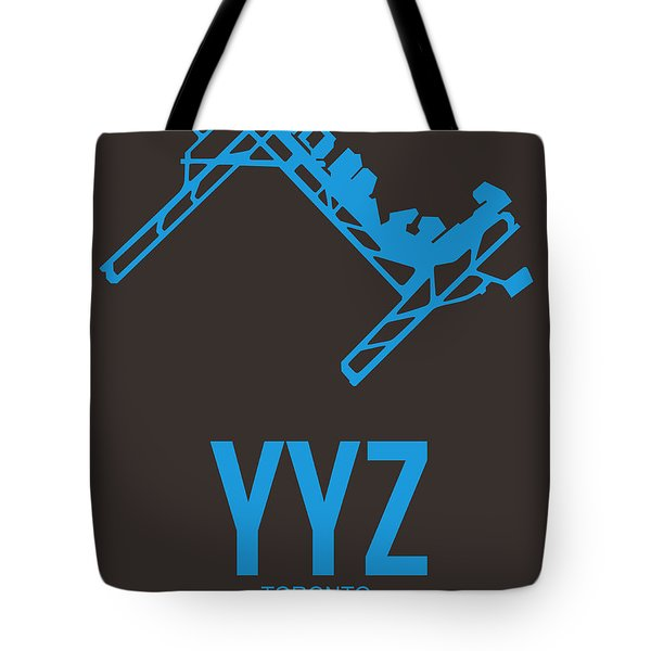 Yyz Toronto Airport Poster 2 Tote Bag