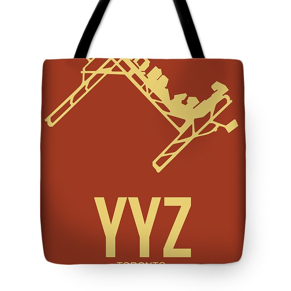 Yyz Toronto Airport Poster 3 Tote Bag