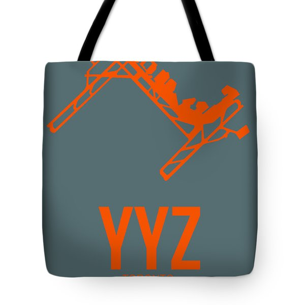 Yyz Toronto Airport Poster Tote Bag