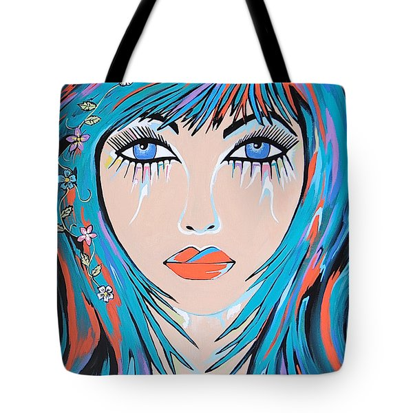 Zahara Tote Bag by Kathleen Sartoris