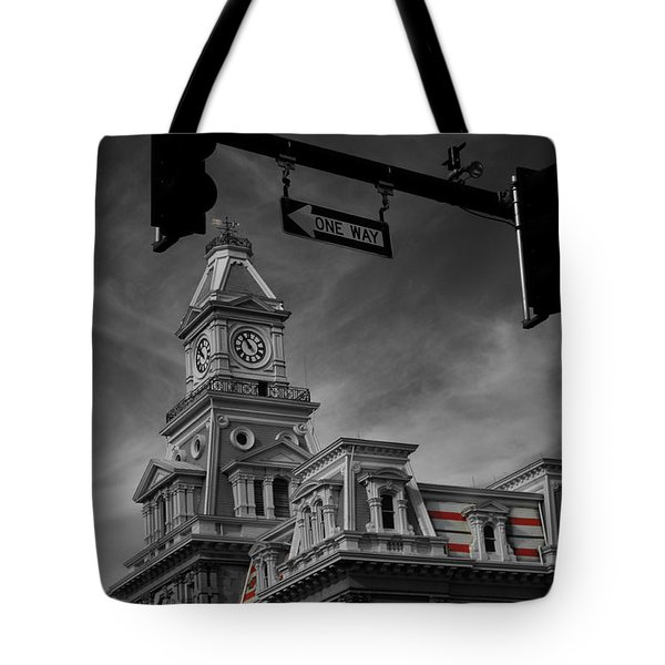Zanesville Oh Courthouse Tote Bag