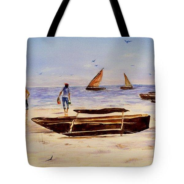 Zanzibar Forzani Beach Tote Bag
