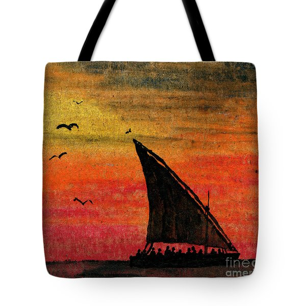 Zanzibar Rapid Transport Tote Bag
