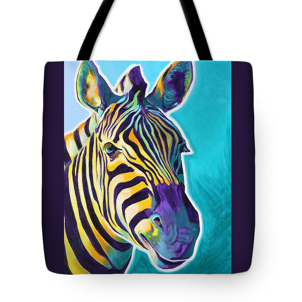 Zebra - Sunrise Tote Bag
