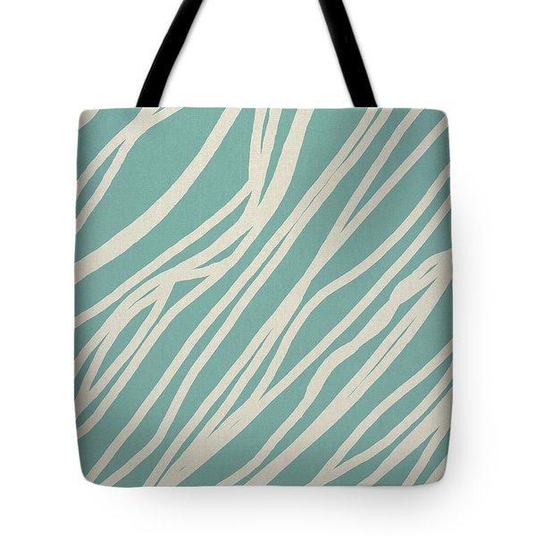 Zebra Tote Bag by Aged Pixel