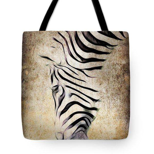 Zebra Fade Tote Bag