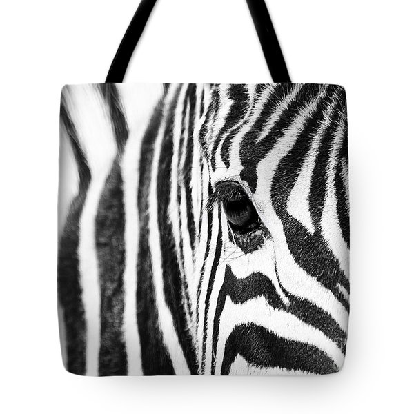 Zebra Gaze Tote Bag