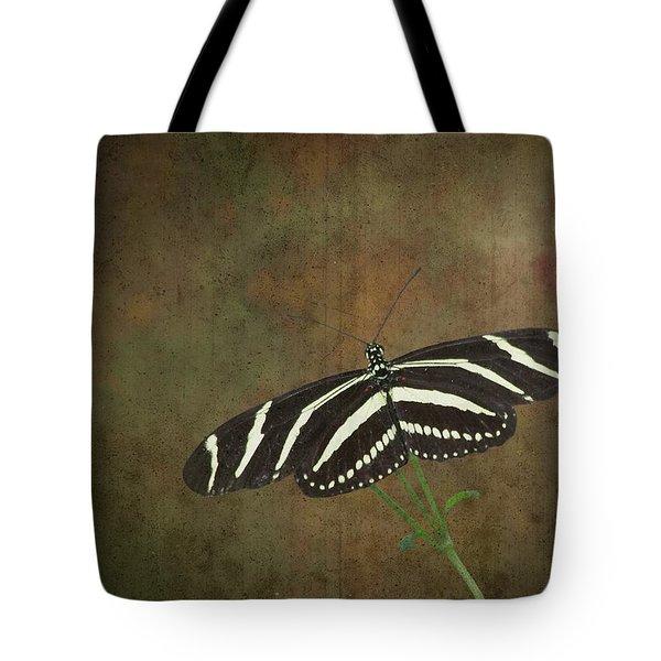 Zebra Longwing  Butterfly-1 Tote Bag