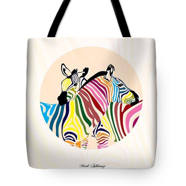 Zebra  Tote Bag by Mark Ashkenazi