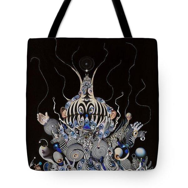 Zebratiki Tote Bag