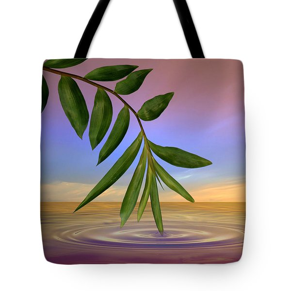 Zen Art Tote Bag by Nina Bradica