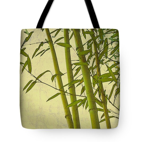 Zen Bamboo Abstract I Tote Bag