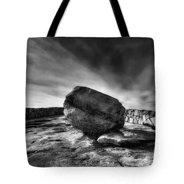 Zen Black White Tote Bag