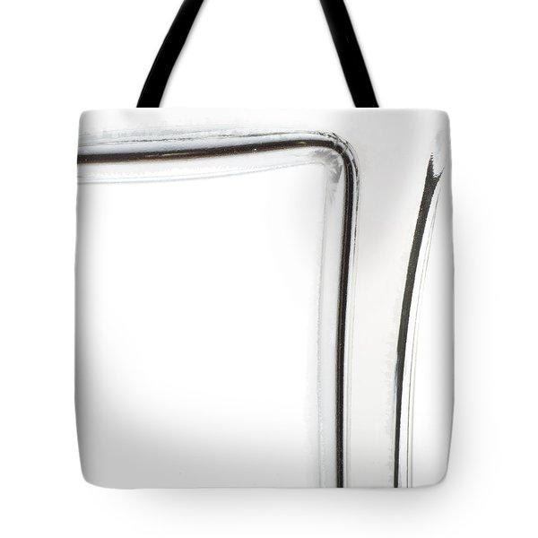 Zen Bottle 3 Square Tote Bag