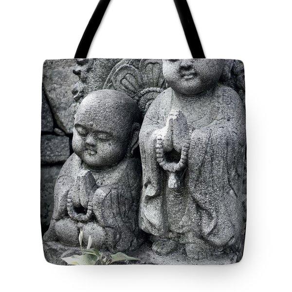 Zen Buddhas - Kyoto Tote Bag