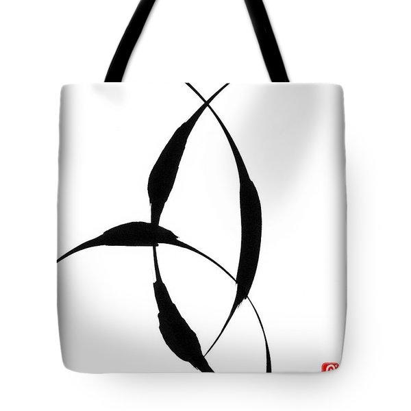 Zen Circles 5 Tote Bag by Hakon Soreide