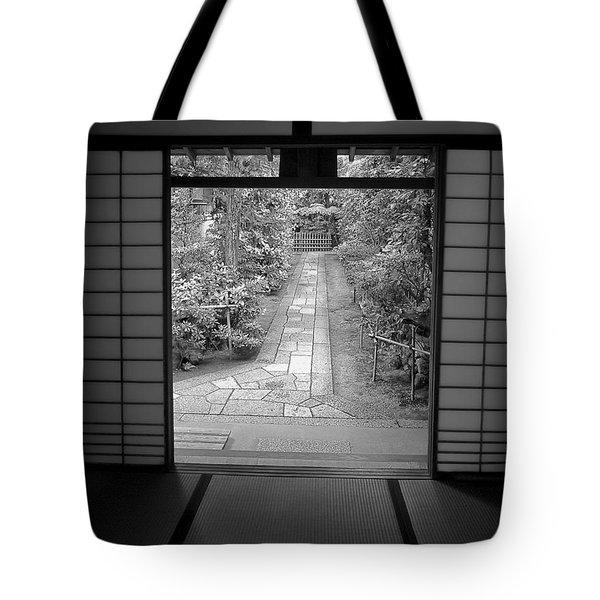 Zen Garden Walkway Tote Bag