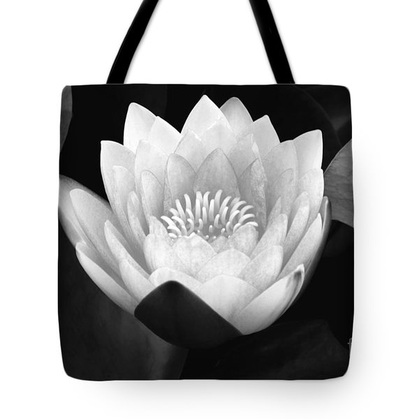 Tote Bag featuring the photograph Waterlily Rising  by John F Tsumas