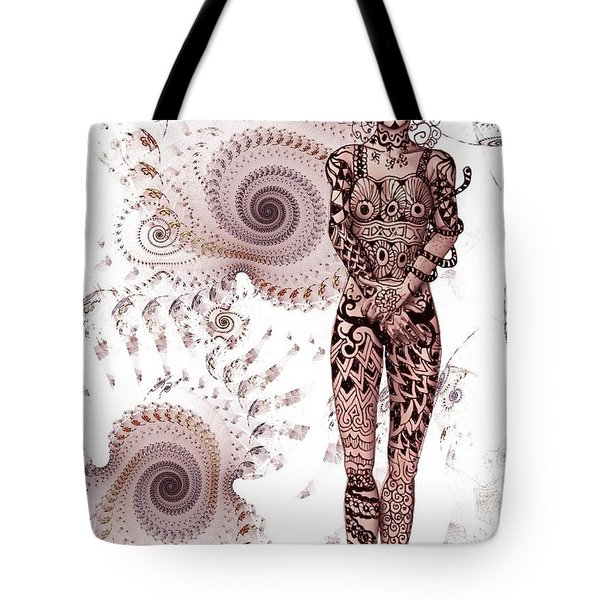 Zen Tangles Tote Bag