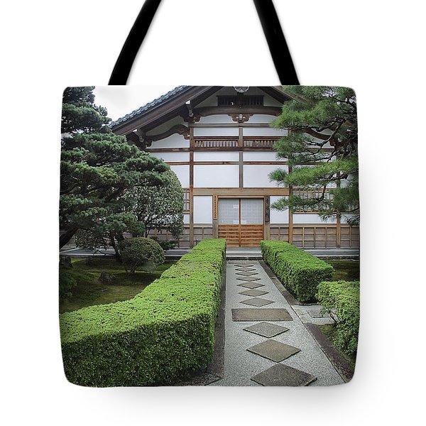 Zen Walkway - Kyoto Japan Tote Bag