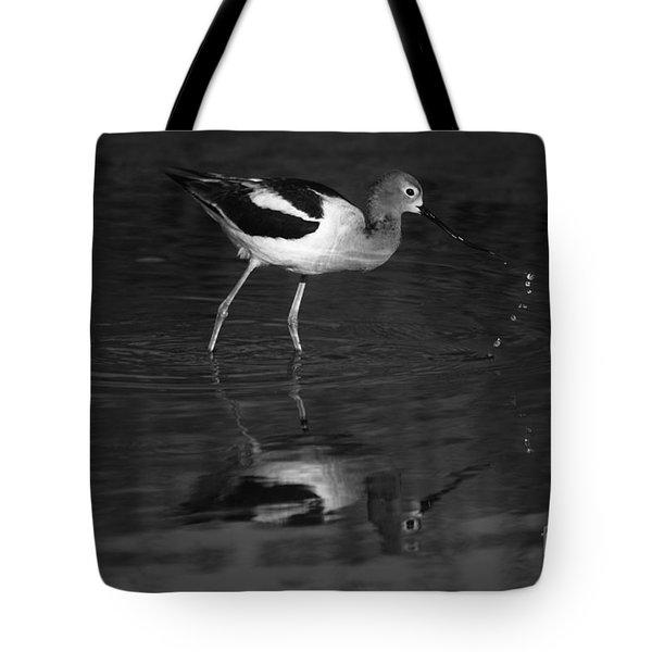 Tote Bag featuring the photograph Zen Waterdrops  by John F Tsumas